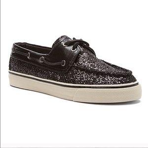 Sperry topsider glitter boat slip on shoes